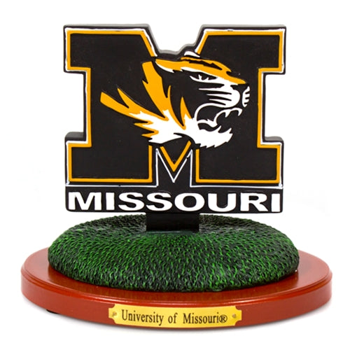Missouri Tiger Head Figurine