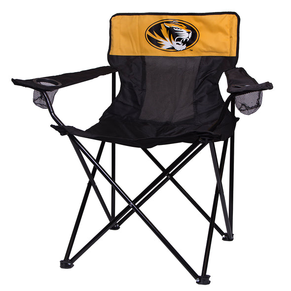 Mizzou Oval Tiger Head Tail Gate Chair