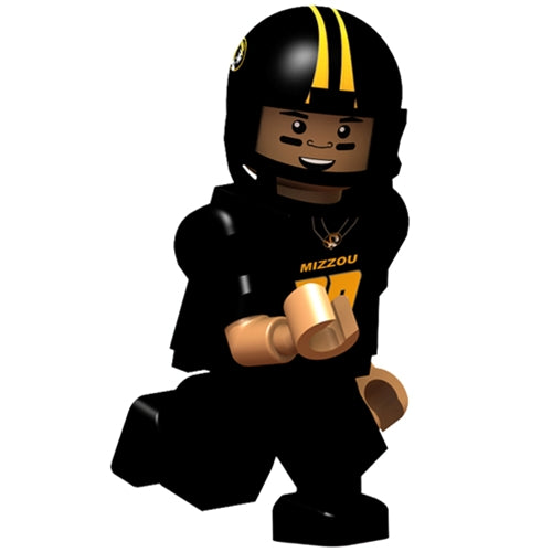 Mizzou Football Player Action Figure