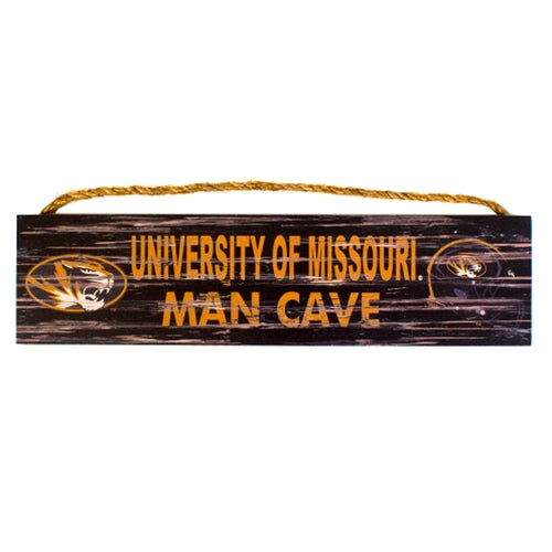 University of Missouri Man Cave Wooden Sign