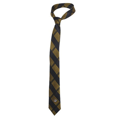 Mizzou Black & Gold Plaid Skinny Tie