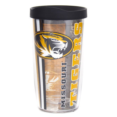 Missouri Tigers Oval Tiger Head Tervis Tumbler 16 oz.