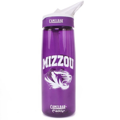 Mizzou CamelBak Purple Water Bottle