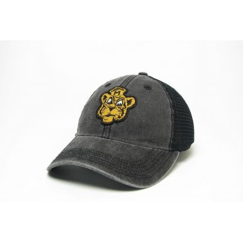cab1fe889acc0 Mizzou Vintage Beanie Tiger Mesh Snap Back Adjustable Black Cap