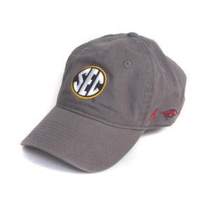 Mizzou SEC All Teams Charcoal Adjustable Hat