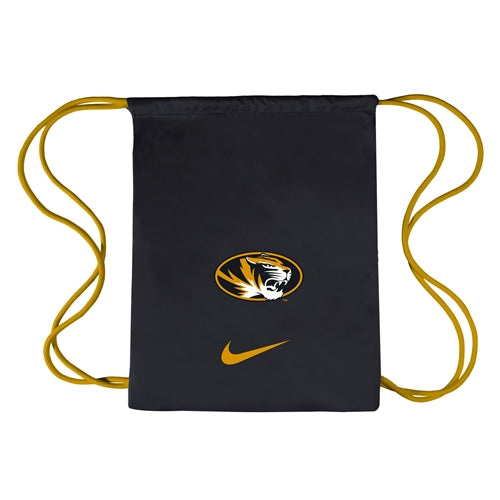 Mizzou Nike® 2018 Black & Gold Gymsack Bag