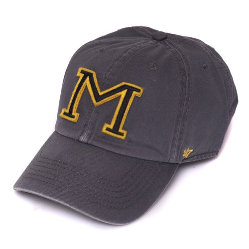 Missouri Charcoal Adjustable Hat