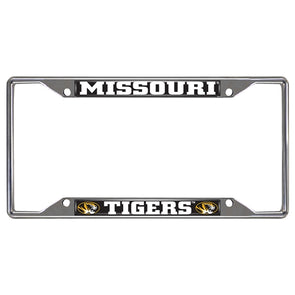 Missouri Tigers License Plate Frame