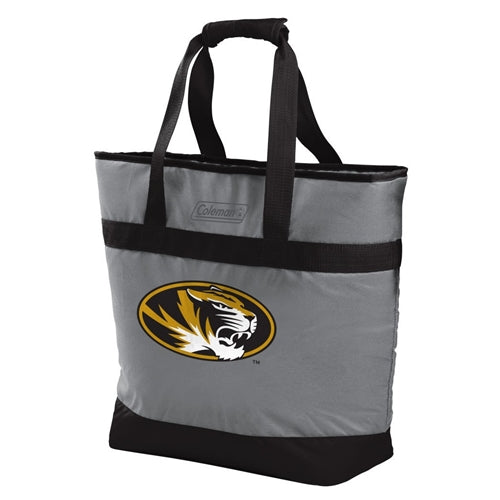Mizzou Oval Tiger Head Large Cooler Tote Bag