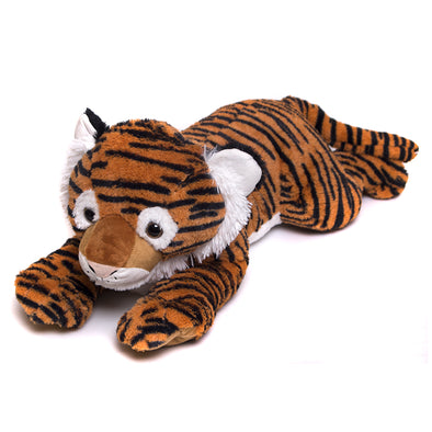 "32"" Plush Laying Down Tiger"