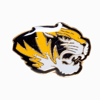 Mizzou Tiger Head Lapel Pin