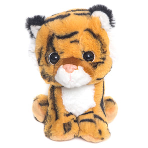 "7"" Floppy Stuffed Tiger"