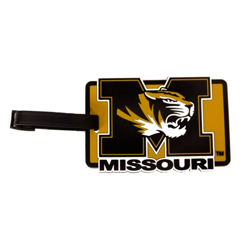 Missouri Tiger Head Luggage Tag