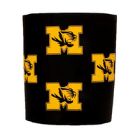 Mizzou Assorted M Tiger Head Scatter Can Holder