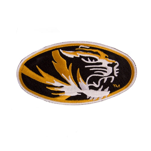 Mizzou Oval Tiger Head Patch