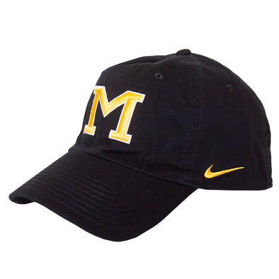Mizzou Nike® 2019 Oval Tiger Head Black Adjustable Hat