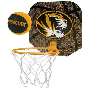 Missouri Tigers Black & Gold Slam Dunk Hoop Set