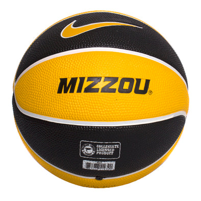 Mizzou Nike® Oval Tiger Head Mini Basketball