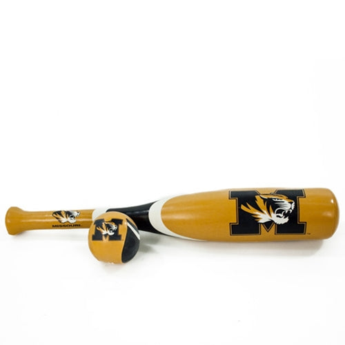 Missouri Black & Gold Softee Bat & Ball Set