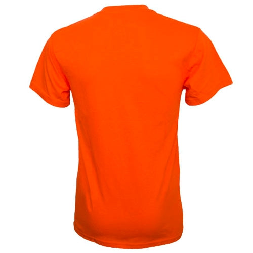 Mizzou Safety Orange Crew Neck T-Shirt