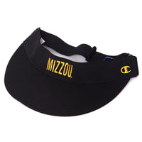 Mizzou Juniors' Black Adjustable Visor