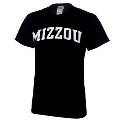 Mizzou Black Short Sleeve T-Shirt