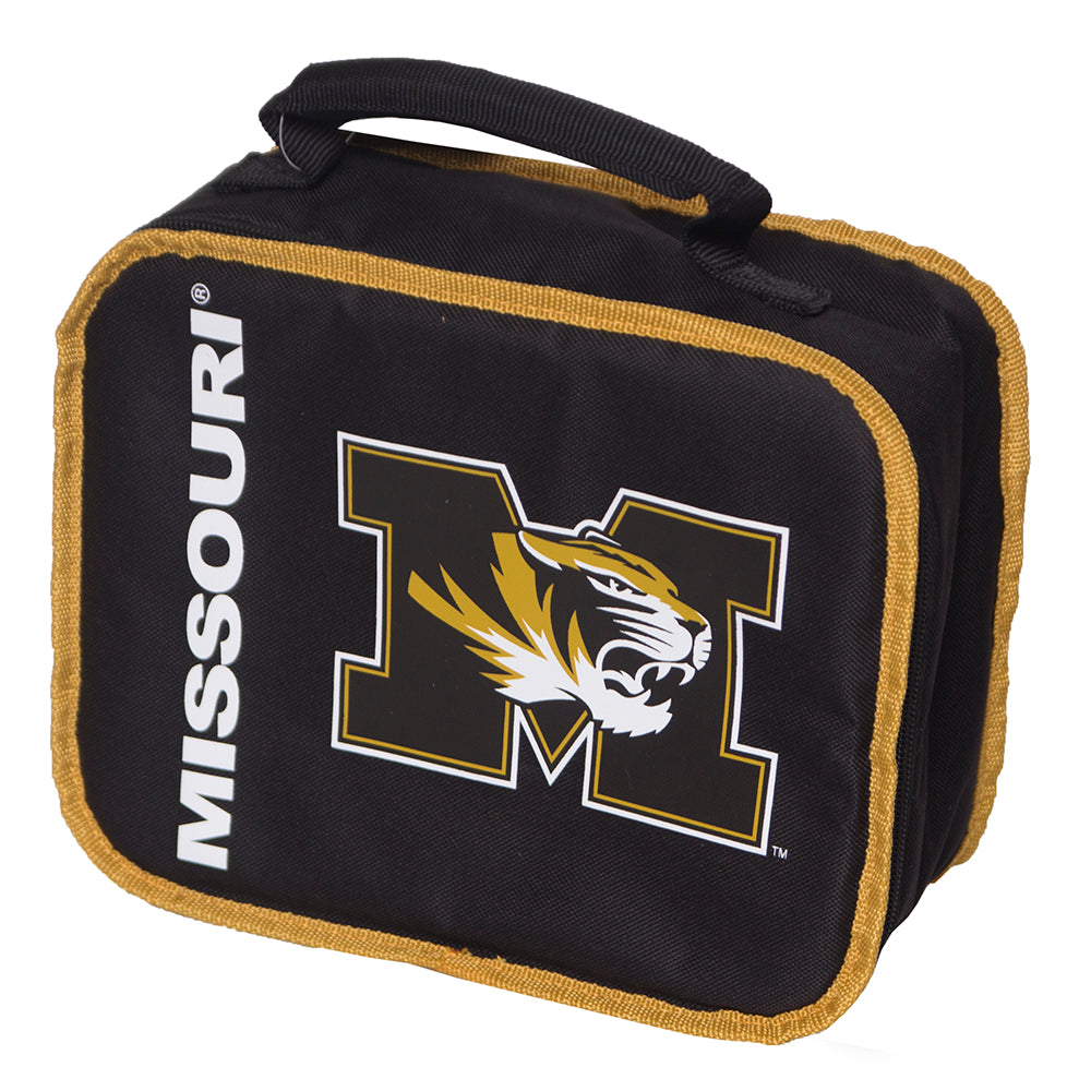 Missouri Tiger Head Black Lunch Bag