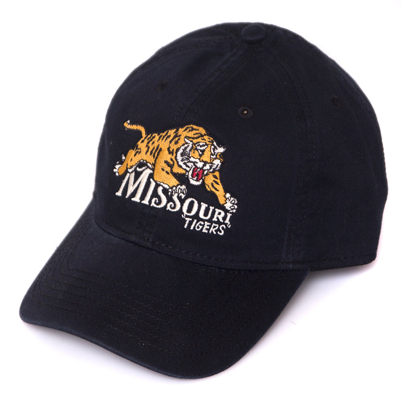Missouri Tigers Classic Collection Black Adjustable Hat