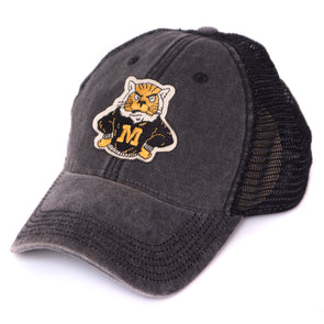 Mizzou Sweater Tiger Black Trucker Hat aaa9de312c48