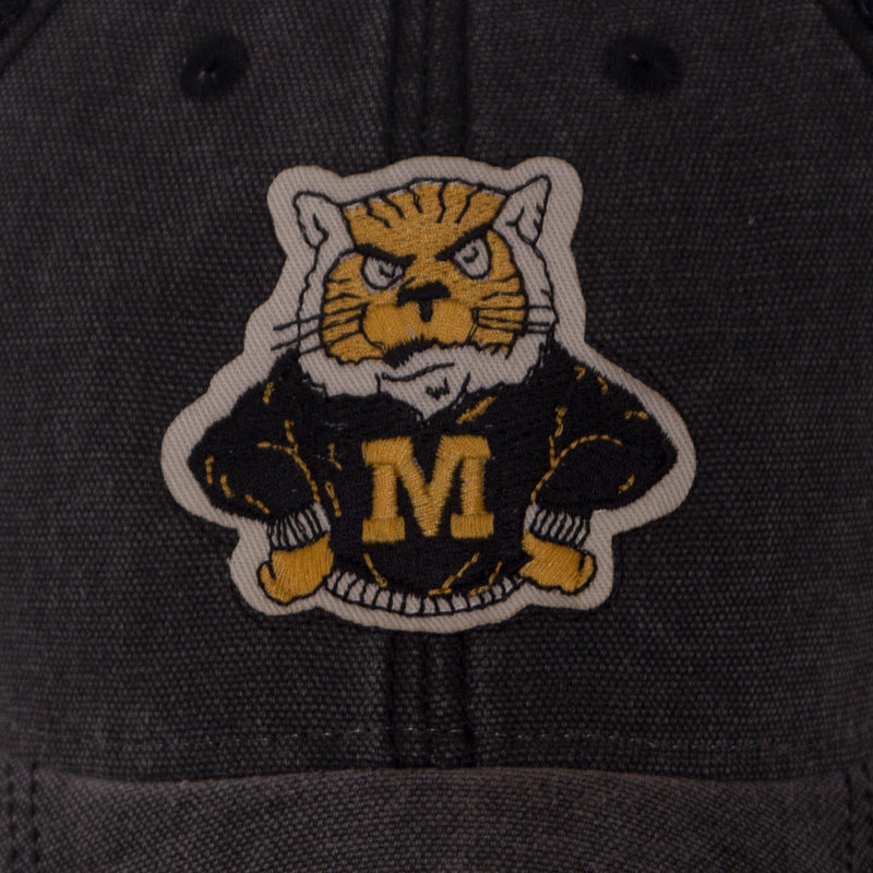 Mizzou Sweater Tiger Black Trucker Hat