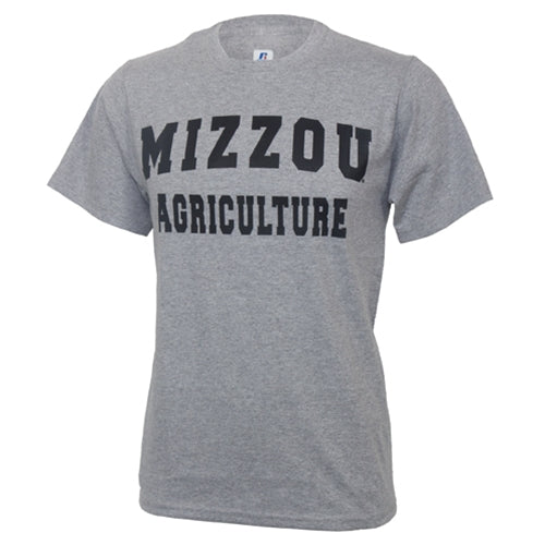 Mizzou Agriculture Grey Short Sleeve T-Shirt