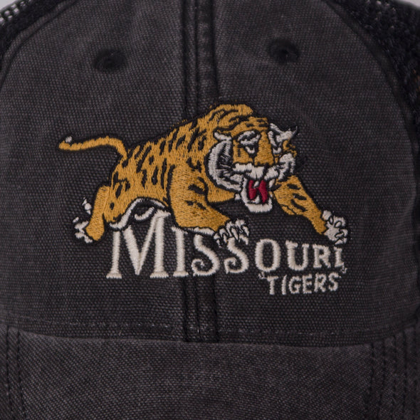 Missouri Tigers Classic Collection Black Trucker Hat