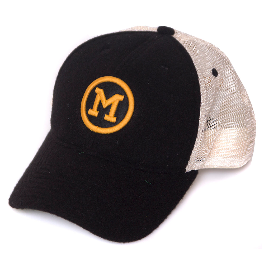 Mizzou Classic Collection Black Trucker Hat – Tiger Team Store fc796f25ee4d