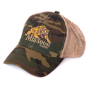Missouri Tigers Classic Collection Camouflage Trucker Hat