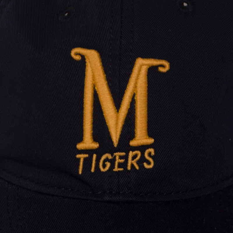 Mizzou Tigers Classic Collection Black Adjustable Hat