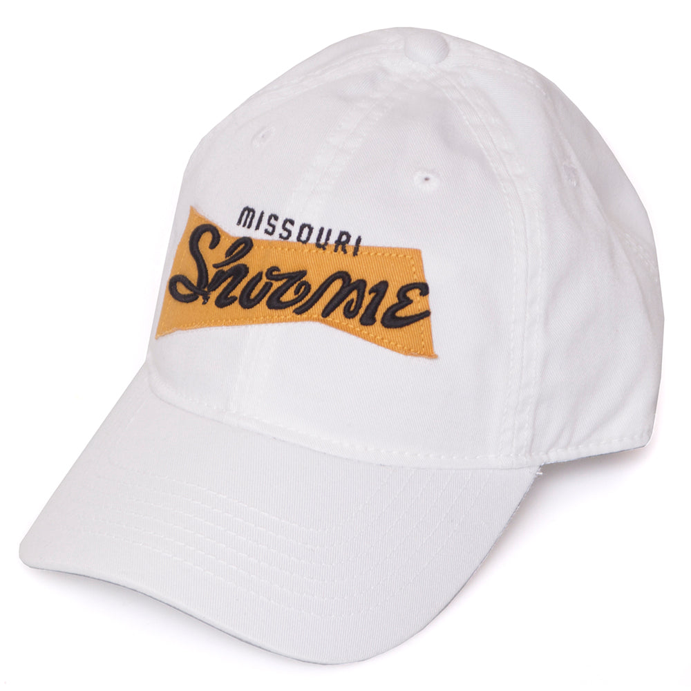 Missouri Classic Collection Show Me White Adjustable Hat