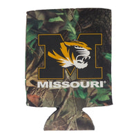 Missouri M Tiger Head Camo Can Holder
