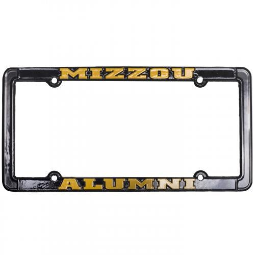 Mizzou Alumni Black License Plate Frame