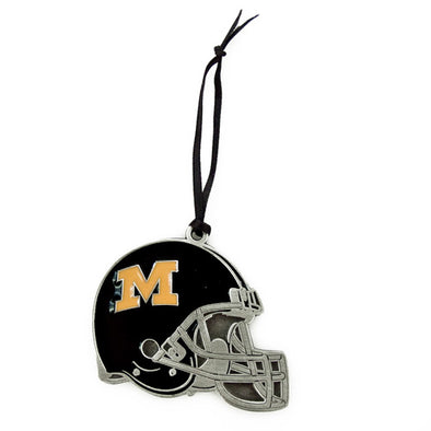 Mizzou Football Helmet Ornament