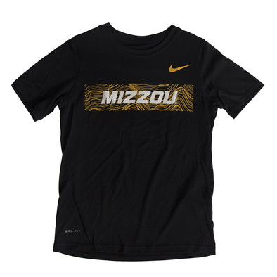 Mizzou Nike reg 2018 Kids  Black Athletic T-Shirt – Tiger Team Store 28ef324cc