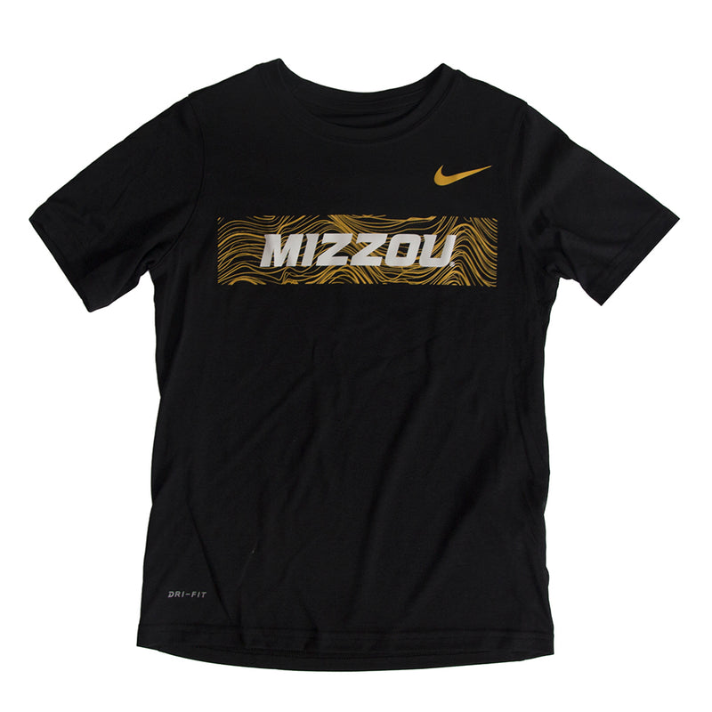 Mizzou Nike&reg 2018 Kids' Black Athletic T-Shirt