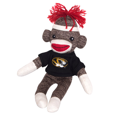 "Mizzou 8"" Plush Sock Monkey"