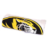 Mizzou Oval Tiger Head Off White Blanket