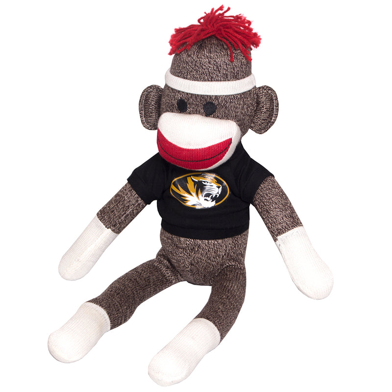"Mizzou 20"" Plush Sock Monkey"