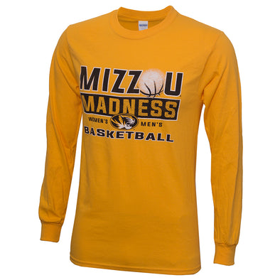 Mizzou Basketball 2018 March Madness Gold Official Shirt