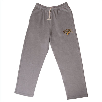 Mizzou Tiger Head Grey Sweatpants