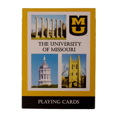 University of Missouri Playing Cards