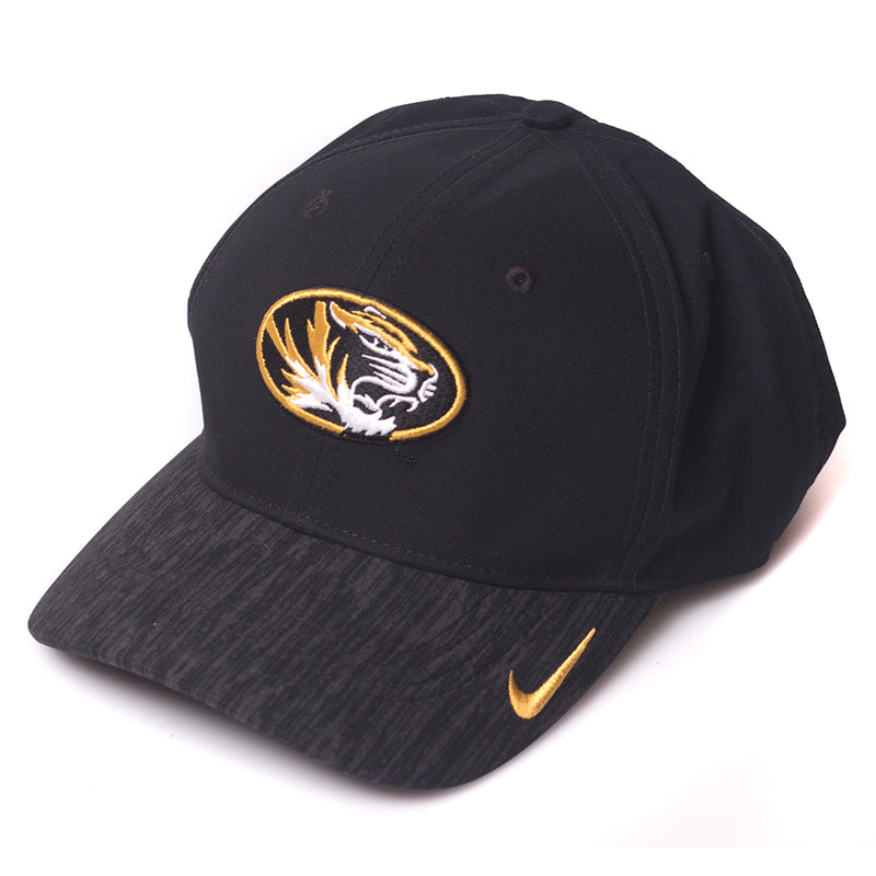 Mizzou Nike&reg 2018 Kids' Oval Tiger Head Black Adjustable Hat