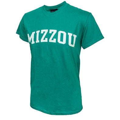 Mizzou Jade Short Sleeve Crew Neck T-Shirt