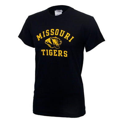 Missouri Tigers Black Short Sleeve T-Shirt